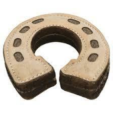 Trixie 35779 Gioco Per Cani Ferro di Cavallo 15 cm In Pelle Lana