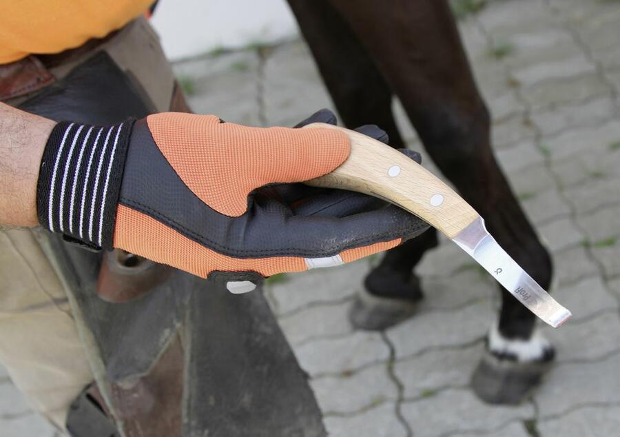 Coltello a doppio tagliente per zoccoli PROFI made EU
