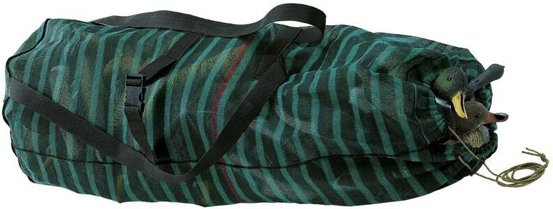 Sacco porta stampi in tessuto idrorepellente con bretelle e cintura regolabile in vita