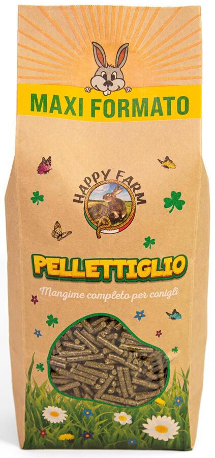 Happy Farm PELLETTIGLIO - 2 kg. - NOVITA'