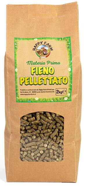 Happy Farm Fieno Pellettato 2 kg.