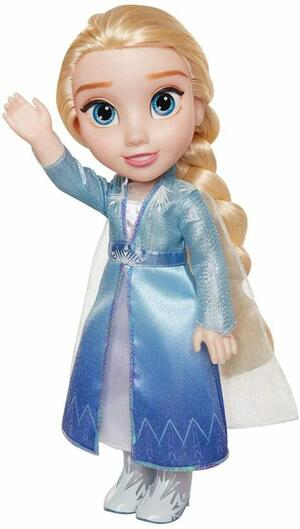 Frozen 2 Bambola Elsa Vestito delle avventure - Disney Giochi Preziosi 208204E - 3+ anni