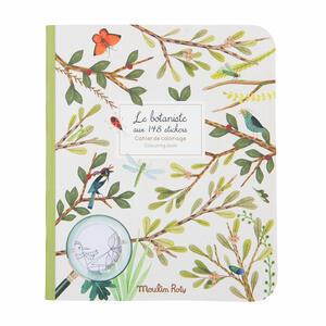 Album da colorare con adesivi - Il Botanista