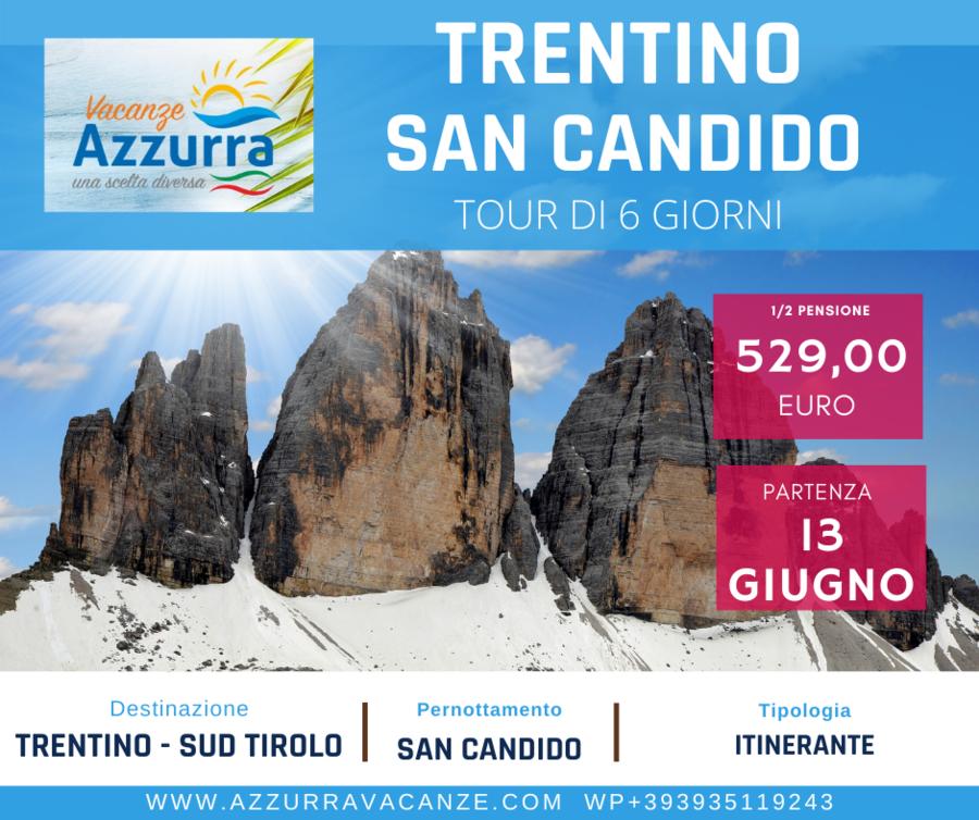 TOUR 6 GIORNI TRENTINO SAN CANDIDO 13 GIUGNO 2021