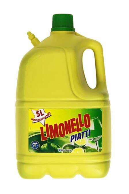 Limonello - Detergente per Stoviglie, a mano - 5000 ml