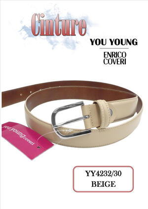 CINTURA DONNA BEIGE YY4232/30 YOU YOUNG COVERI