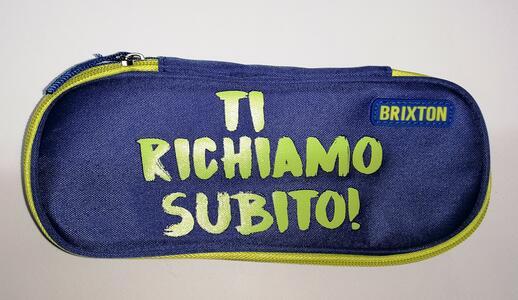 "ASTUCCIO 1 ZIP ""TI RICHIAMO SUBTIO"" BRIXTON"