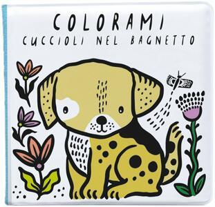Libro bagno Colorami - Cuccioli nel bagnetto