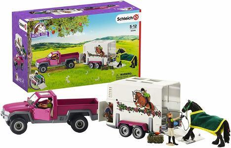 Trail truck Pick Up con cavallo - Schleich 42346 - 5-12 anni