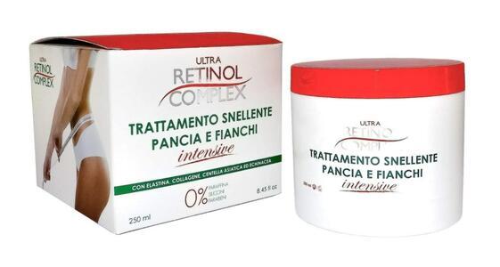 ULTRA RETINOL COMPLEX TRATTAMENTO SNELLENTE PANCIA E FIANCHI INTENSIVA 250ML | CON ECHINACEA - CENTELLA ASIATICA E COLAGENE