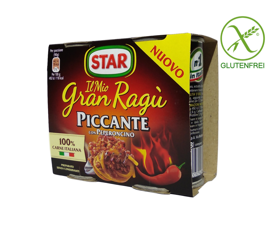 STAR Sugo Gran Ragù PICCANTE - 2er