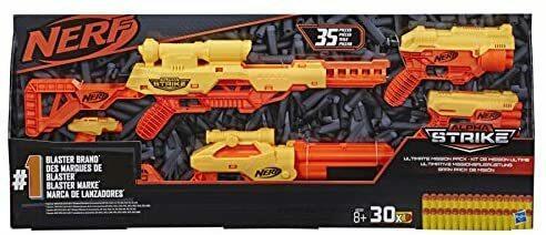 Nerf Alpha Srike Ultimate Mission Pack - Hasbro E8339 - 8+