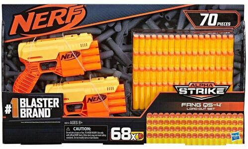 Nerf Alpha Srike Fang QS-4 - Hasbro E8314 - 8+