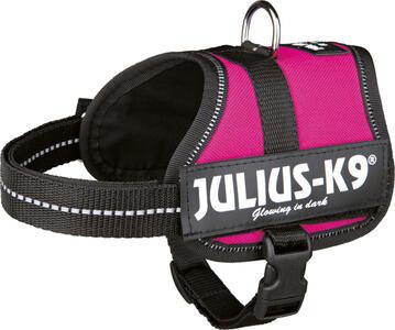 Julius K9 Baby 2 Fucsia 33-45 cm Peso 2- 5 Kg Pettorina Per Cani