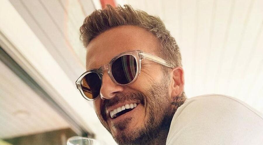 David Beckham DB 7041/S - Grey - Brown
