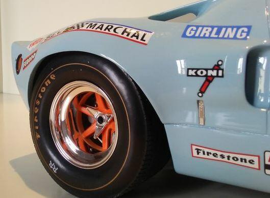 Modello di auto CMR 1/12 Ford GT40 N.6 Winner LM 1969 J.Ickx-J.Oliver Scala 1:12 di CMR Classic Model Replicars