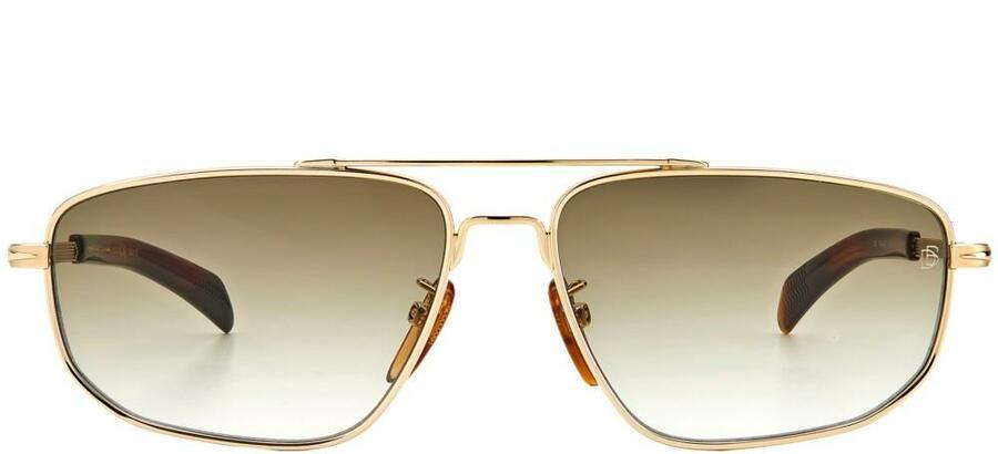 David Beckham DB 7049/G/S - Gold - Green Shaded