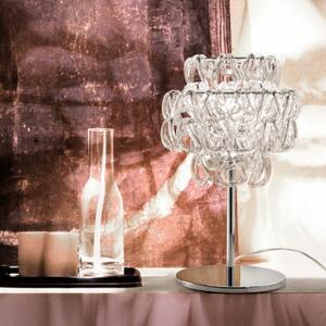 Lampada da Tavolo MINIGIOGALI in Cristallo di Vetreria Vistosi, Varie Finiture - Offerta di Mondo Luce 24