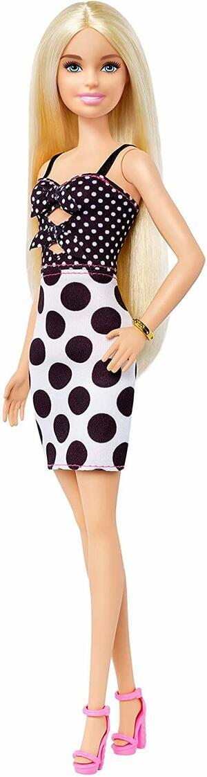 Barbie Fashionista con Vestito a Pois - Mattel GHW50 - 3+