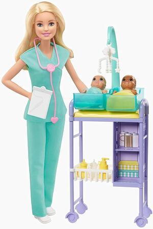 Barbie Carriere Pediatra - Mattel GJM72 - 3+