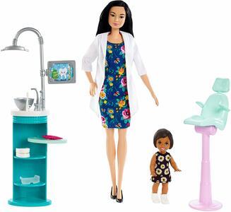 Barbie Carriera Dentista - Mattel FXP17 - 3+