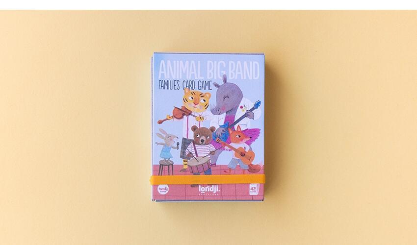 Gioco delle famiglie Animal Big Band