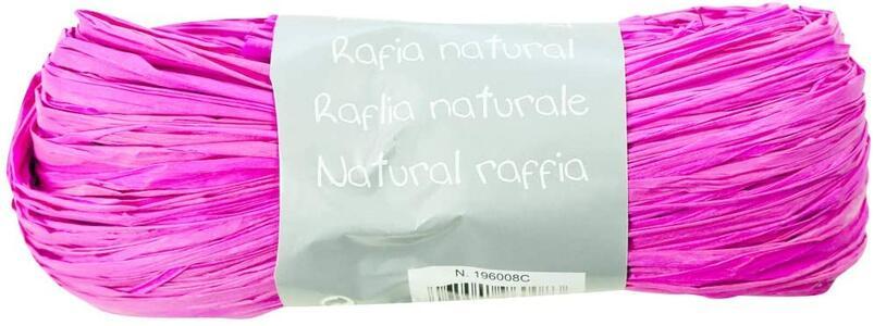 RAFIA NATURALE FUCSIA 50 GR