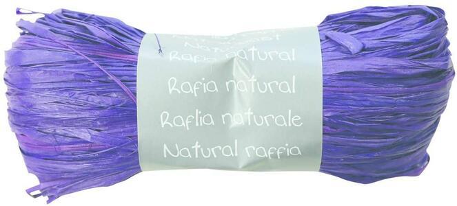 RAFIA NATURALE VIOLA 50 GR