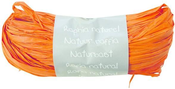 RAFIA NATURALE ARANCIONE 50 GR