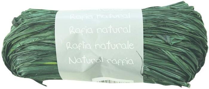 RAFIA NATURALE VERDE 50 GR