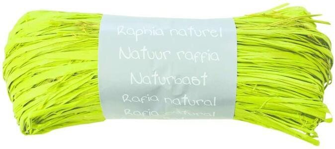 RAFIA NATURALE VERDE ANICE 50 GR