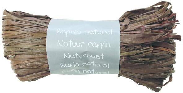 RAFIA NATURALE CIOCCOLATO 50 GR
