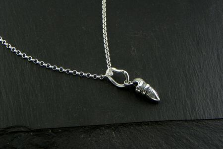 Climber shoe pendant & carabiner