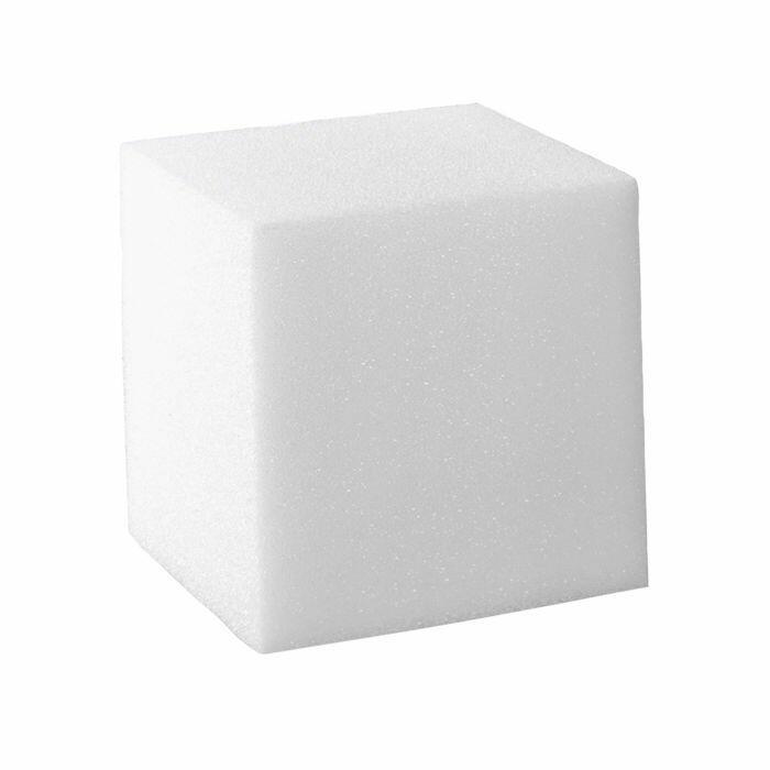 Base quadrata polistirolo altezza 15 cm
