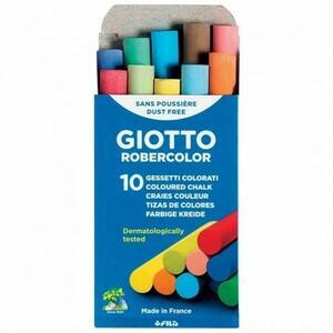 Giotto Gesso Robercolor colorati 10 pezzi