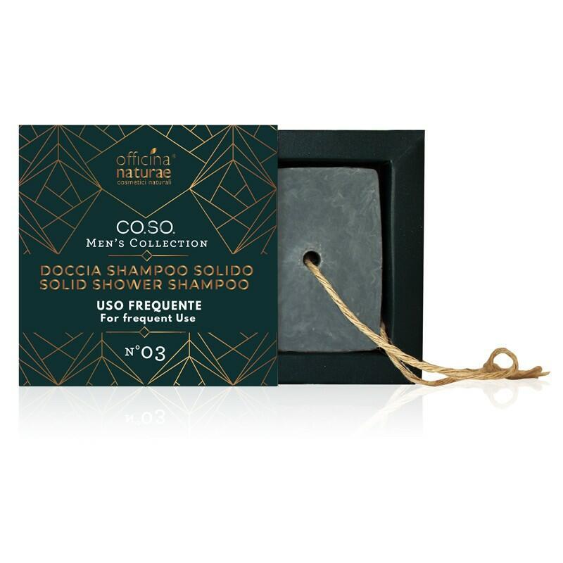 Officina naturae - Co.So. Men - Doccia Shampoo solido uso frequente