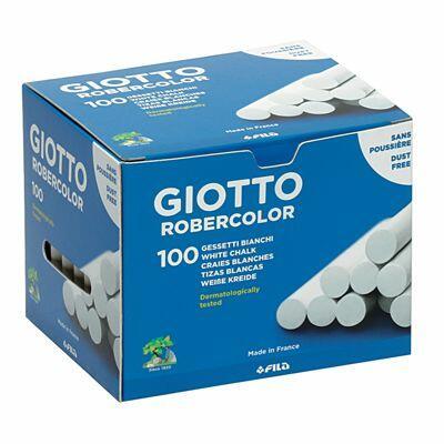 Giotto Gesso Robercolor  bianco 100 pezzi