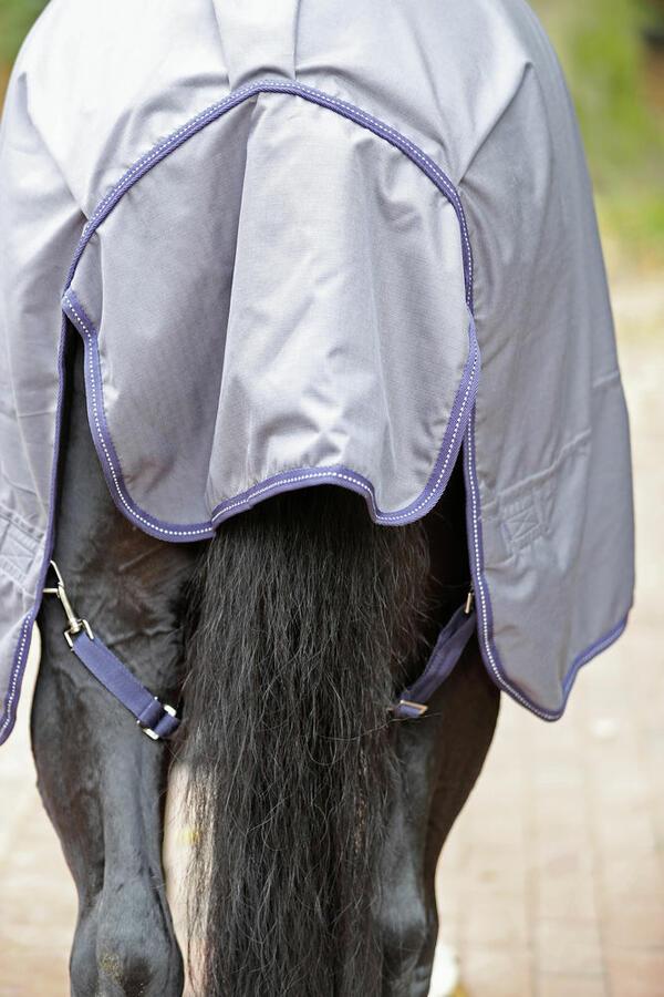 RugBe Zero 145 cm colore grey coperta da cavallo outdoor perfetta per tutto l'anno