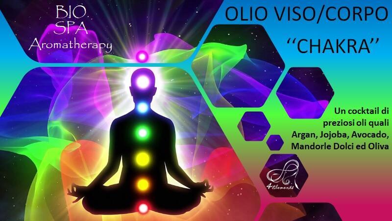 OLIO VISO/CORPO - CHAKRA