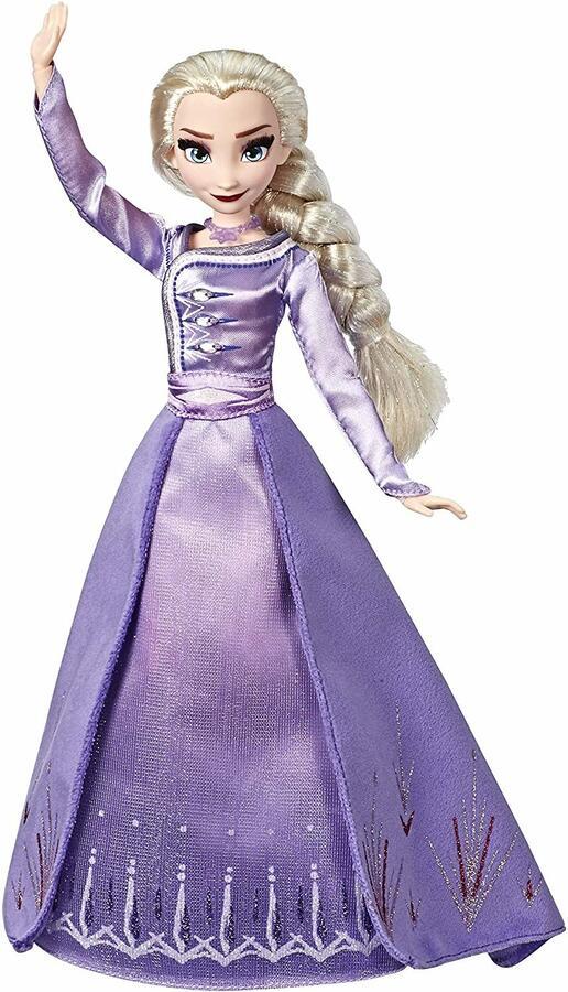 Disney Frozen 2 Ardelle Elsa in abito da viaggio - Hasbro E6844 - 3+