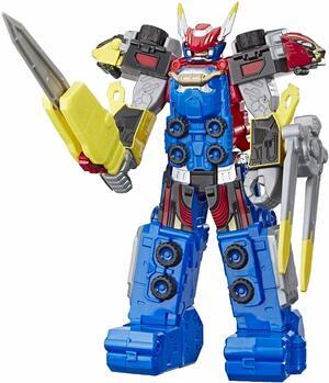 Power Rangers Beast-X Megazord con suoni e frasi da 25 cm - Hasbro E5948 - 4+