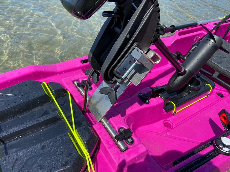 Supporto motore inox centrale mod. TUM per TRIKEN 405