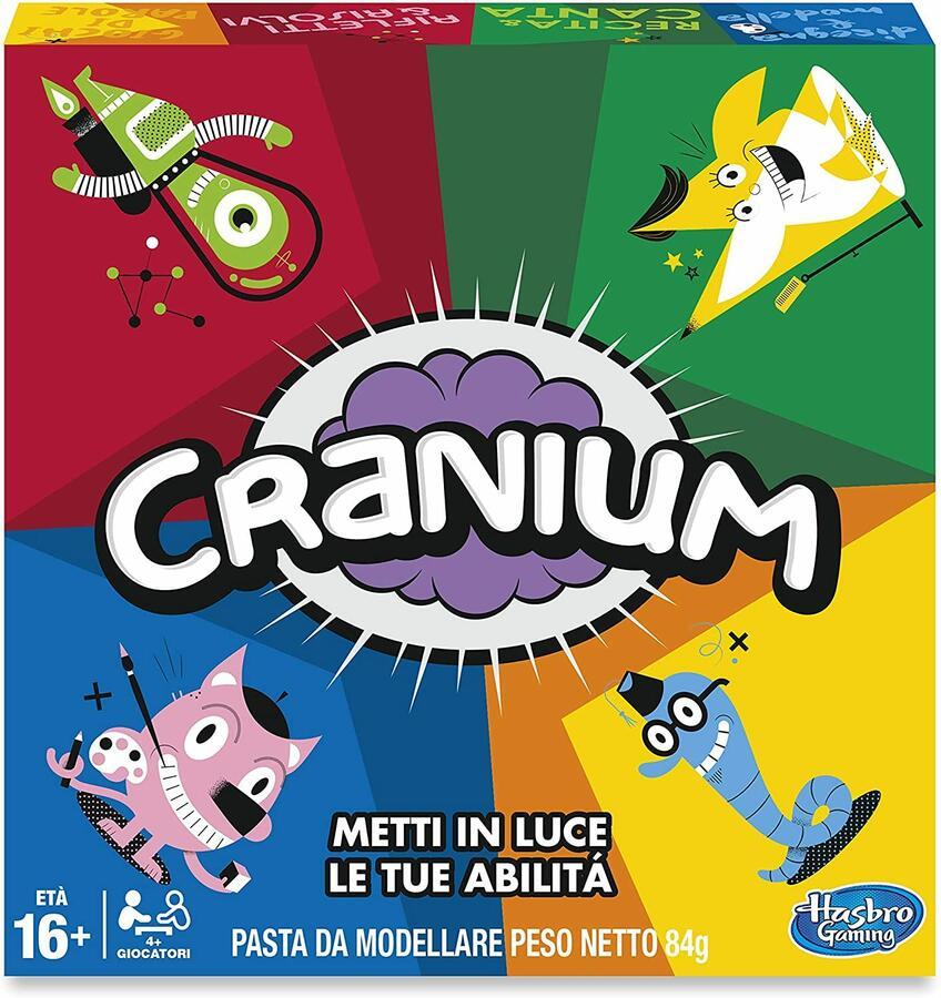 Cranium - Hasbro Gaming C1939 - 16+ anni 4+ giocatori