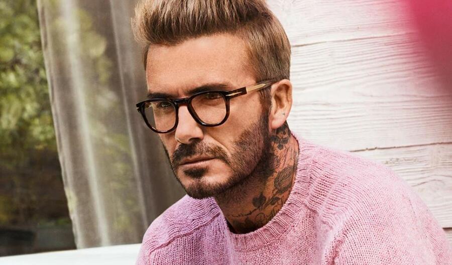 David Beckham DB 7050 - Brown Horn