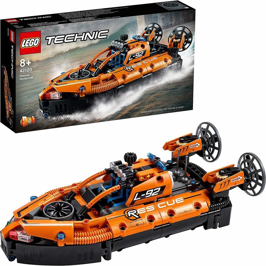 Hovercraft di Salvataggio 2 in 1- LEGO Technic 42120 - 8+