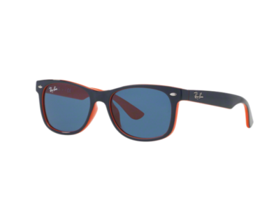 Ray-Ban Junior NEW WAYFARER JUNIOR RJ 9052S Dark Blue Orange/blue 178/80