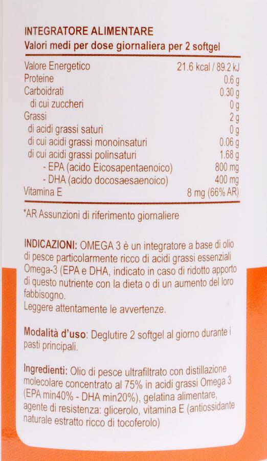 Beauty Omega 3 Forte - Olio di pesce - 60 capsule