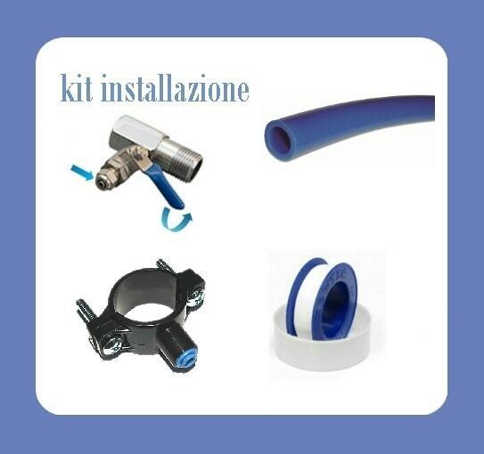 Osmo Frigo depuratore ad osmosi inversa con refrigeratore sottolavello FM-01 con rubinetto 5 vie estraibile