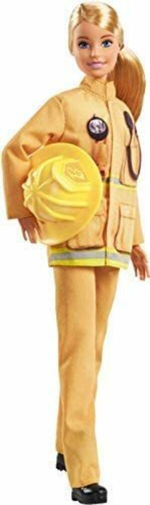 Barbie Carriera Vigile del Fuoco - Mattel GFX29 - 3+