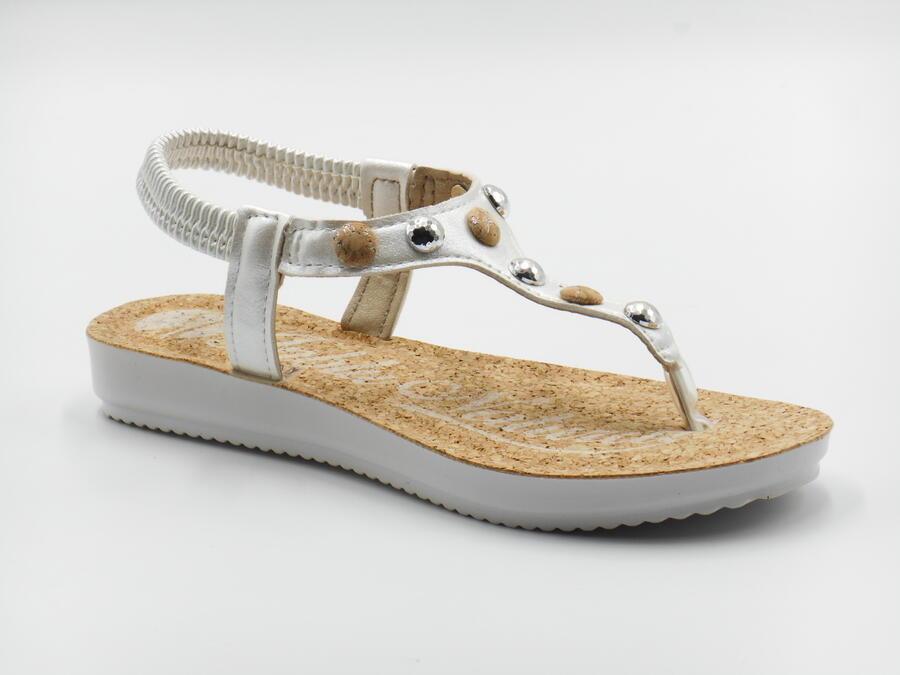InBlu BM54 sandalo bianco infradito
